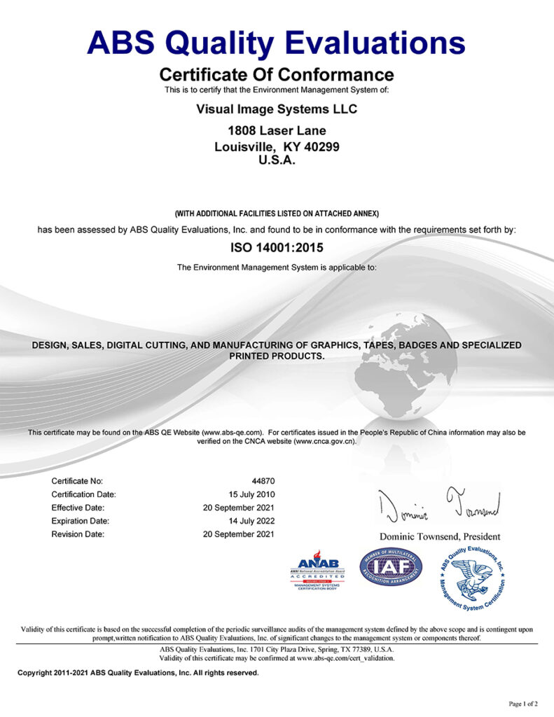 ISO 14001 2015 44870