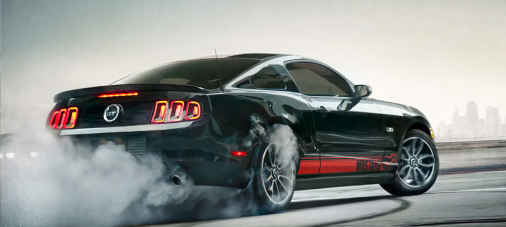 Mustang Graphic