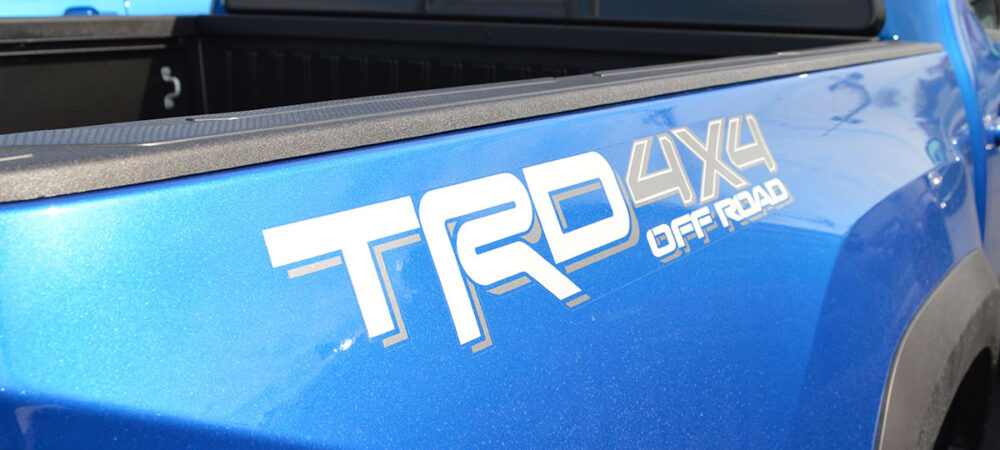 TRD 4X4 Off Road Silver Graphic